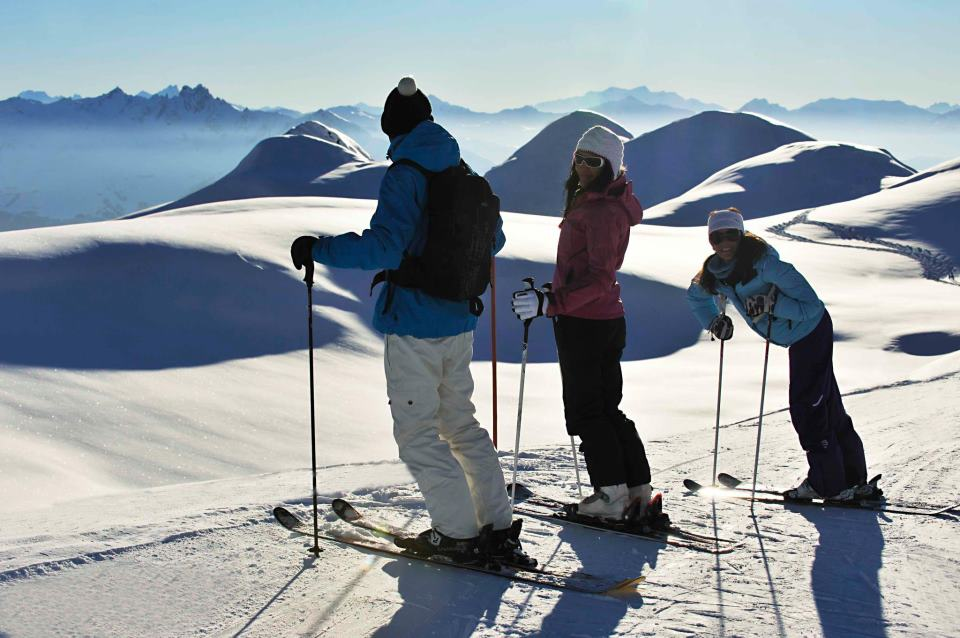 Family skiing holidays: 10 best ski resorts for families image courtesy of La Plagne