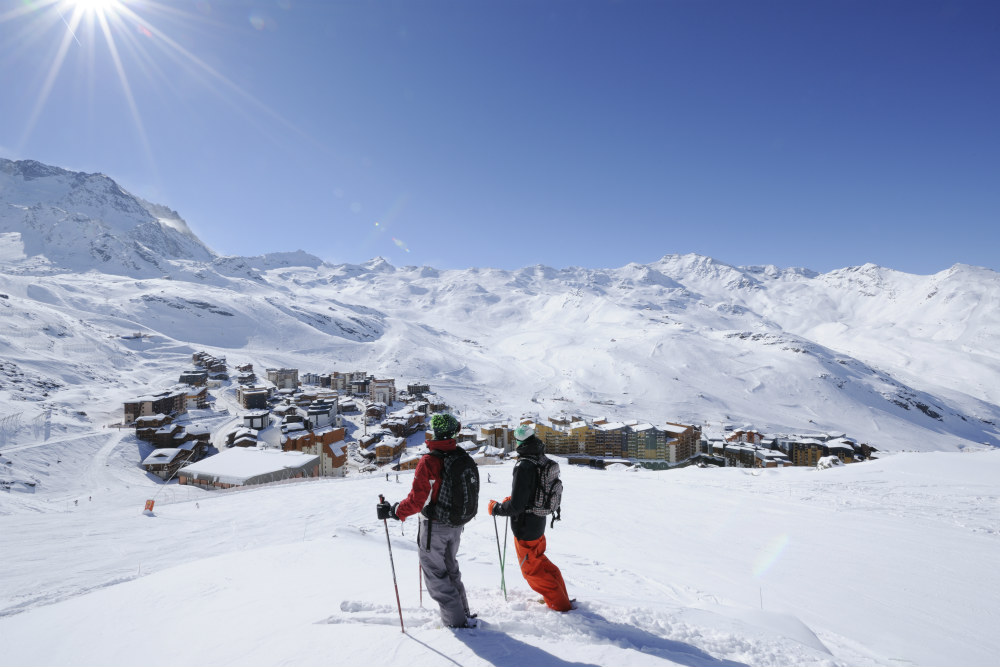 Skiing holidays in France: Val Thorens one of the 13 best French ski resorts Image copyright Val Thorens Tourisme