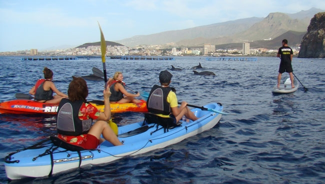canary islands kayaking holidays Image courtesy of Watersports Tenerife