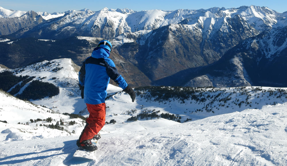 French Pyrenees ski resort news New ski area Pyrenees 2 Vallees Ax 3 Domaines photo by James Cove of Planet Ski