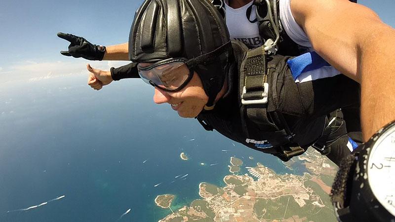 Skydive Vrsar discount: 20% off skydiving in Croatia