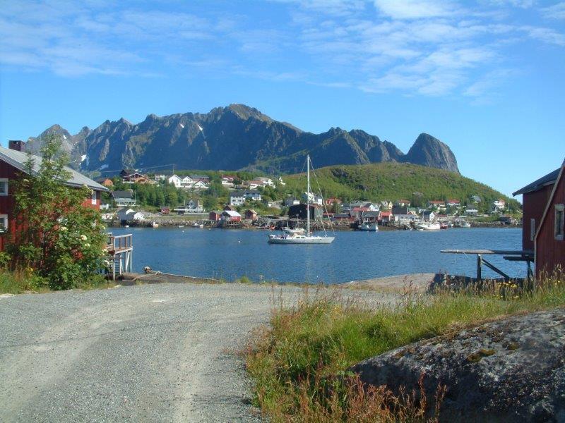 Lofoten Islands sailing holiday in Norway image courtesy of Velvet Adventure Sailing Holidays
