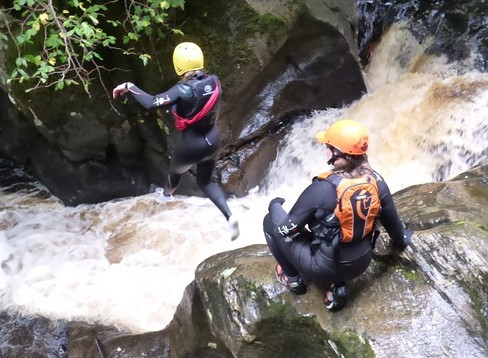 Splash White Water Rafting discount: 10% off canyoning in Scotland