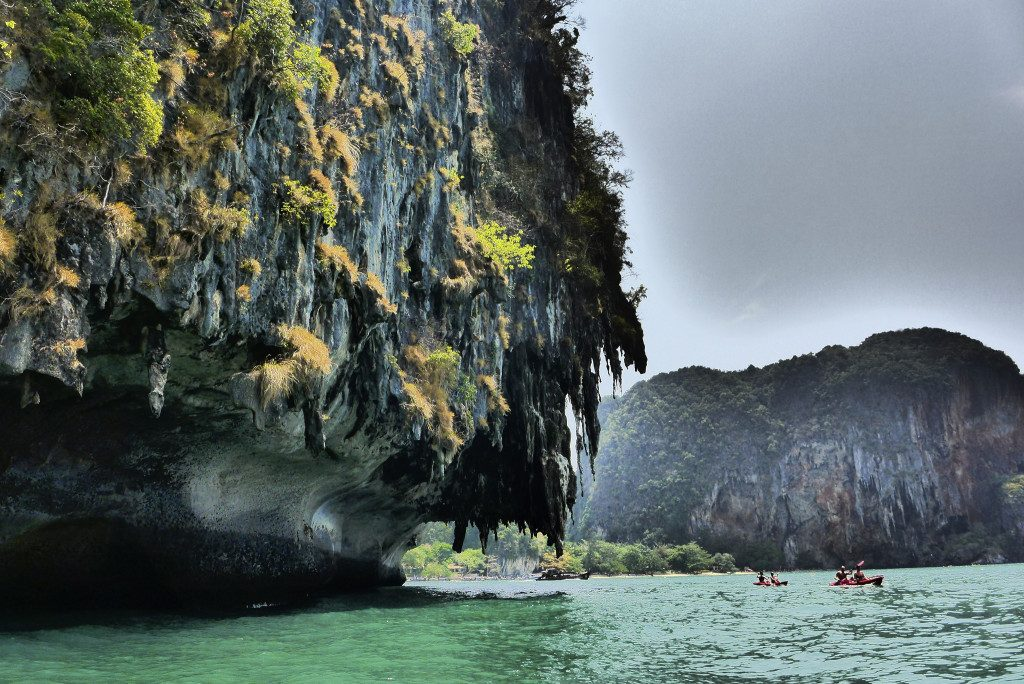 Sea kayaking in Thailand under Karsts: Paddling in paradise Flickr image by madeleine_h
