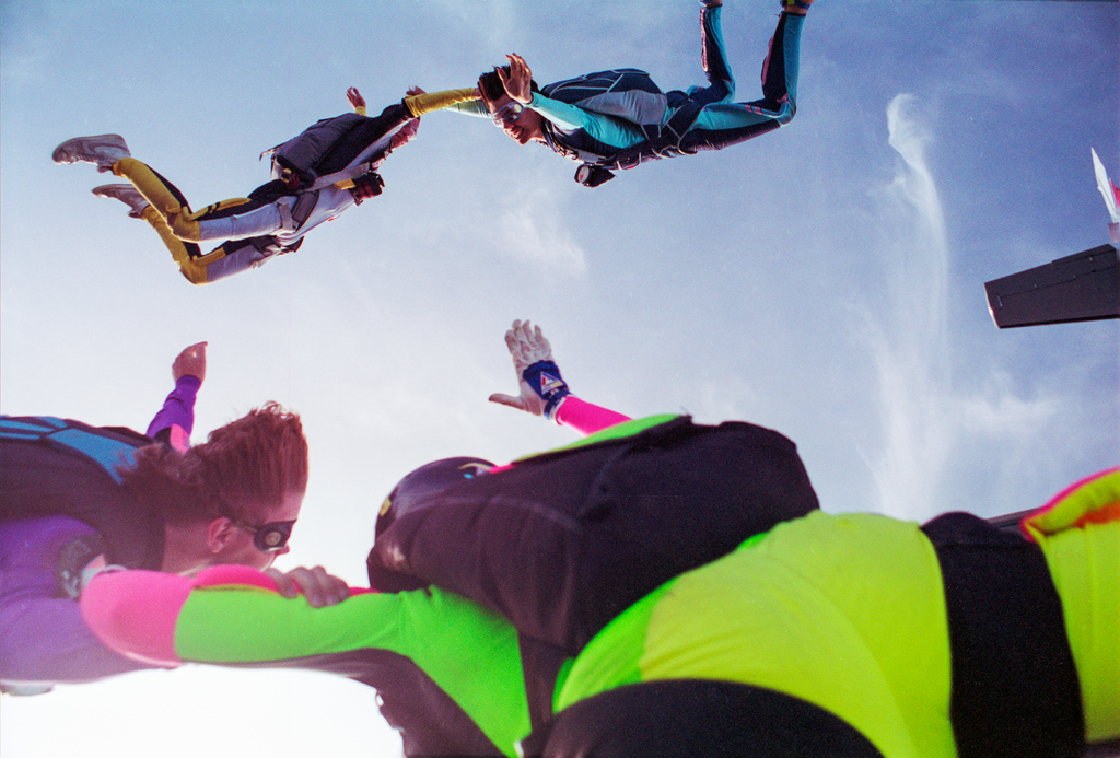 Detailed skydiving glossary of term Flickr image by Philip Leara