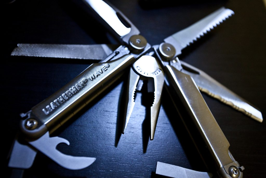 Penknife or multitool Leatherman one of the best pocket knife and tool brands flickr image by brian.ch