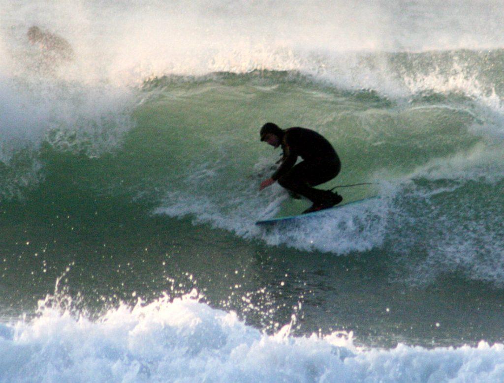 UK winter surfing guide enjoy British surf conditions year round Flickr image by Hugh Lunnon