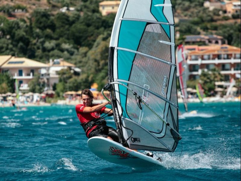 Vassiliki of the best family windsurfing holiday destinations image courtesy of Ocean Elements