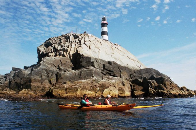 Action sport and adventure holiday late availability kayaking in West Cork image courtesy of Celtic Cross Hotel