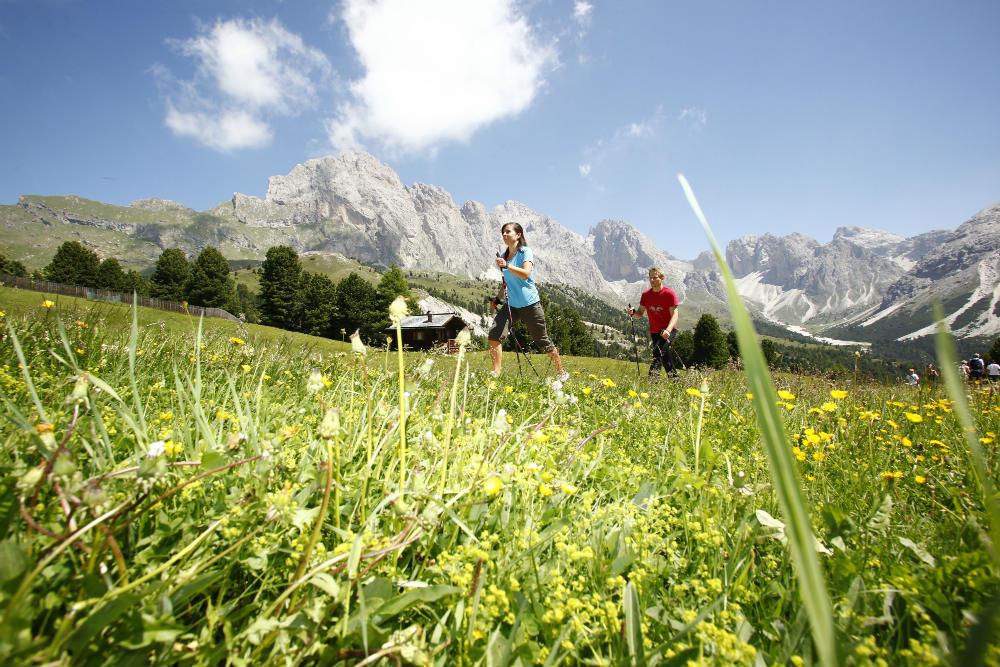 Four peak challenge Dolomite hiking holiday in Val Gardena 2