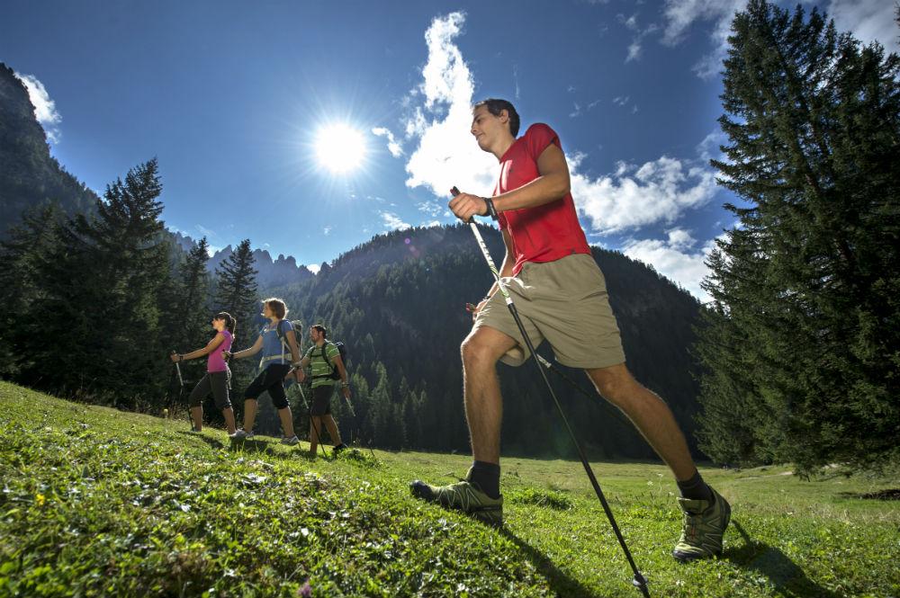 Four peak challenge Dolomite hiking holiday in Val Gardena