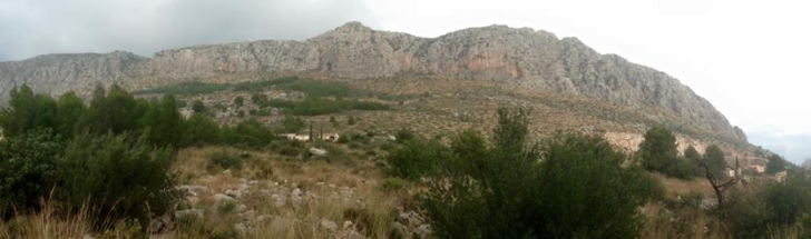 Guide to Segaria ridge hiking and scrambling in Costa Blanca 2 courtesy of Mountain Journeys