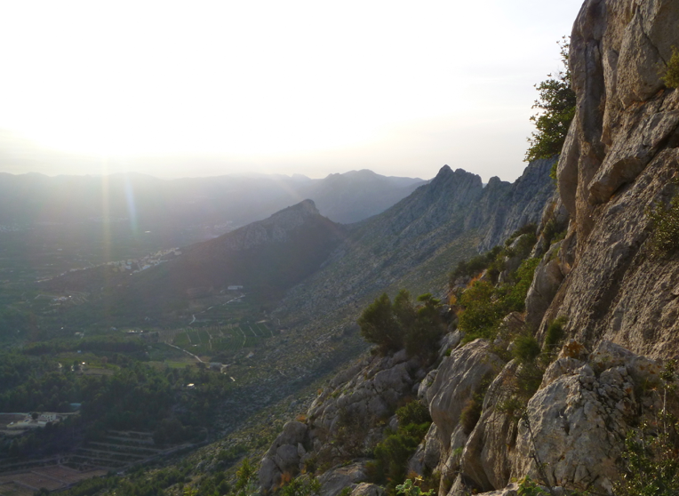Guide to Segaria ridge hiking and scrambling in Costa Blanca courtesy of Mountain Journeys