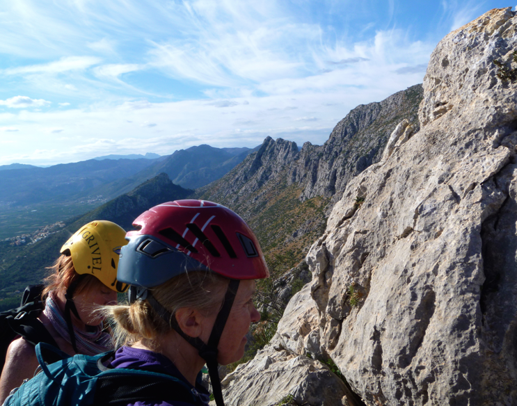 Guide to Segaria ridge hiking and scrambling in Costa Blanca image courtesy of Mountain Journeys
