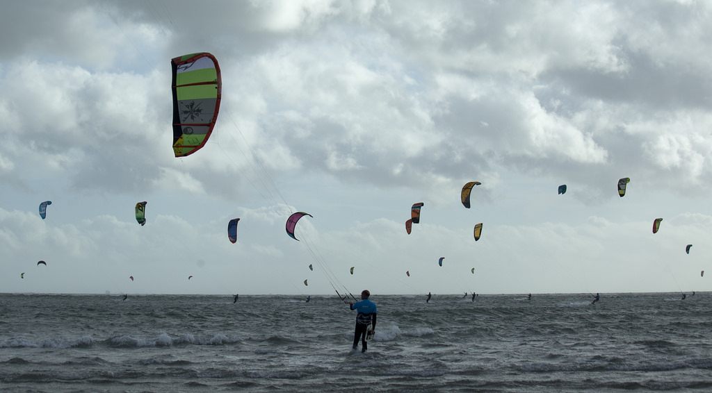 Hayling Island one of the best kite spots in Europe flickr image by vallgall