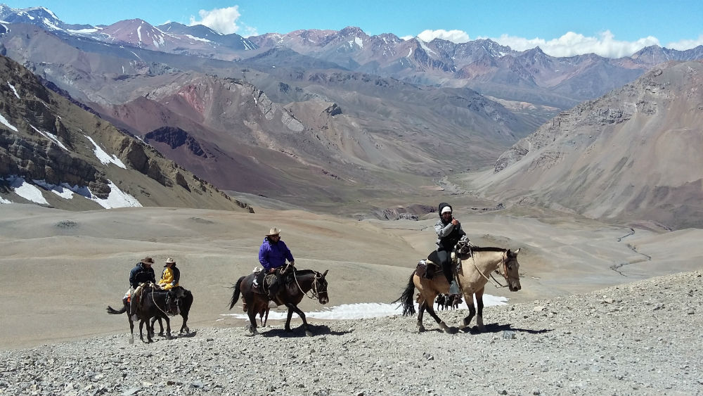 Trekking Travel Expeditions discount: 10% off crossing Andes by horse