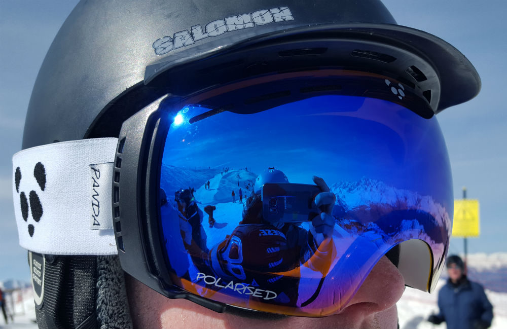 Review of Panda Optics Funnel The best frameless ski goggles