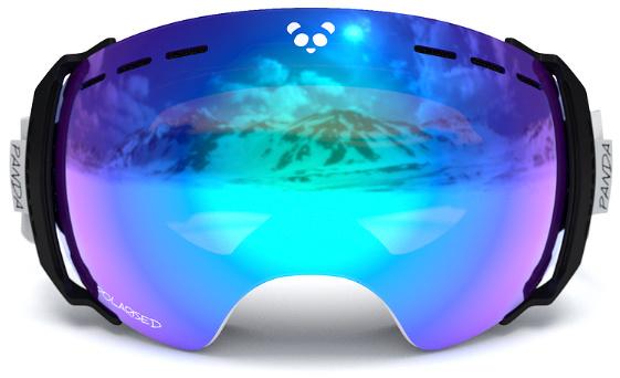Review of Panda Optics Funnel The best frameless ski goggles 4