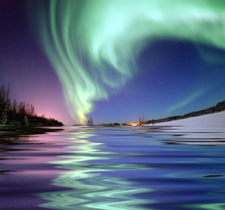 Bear Lake, Alaska one of best Northern Lights activity holidays Flickr image by Beverly & Pack