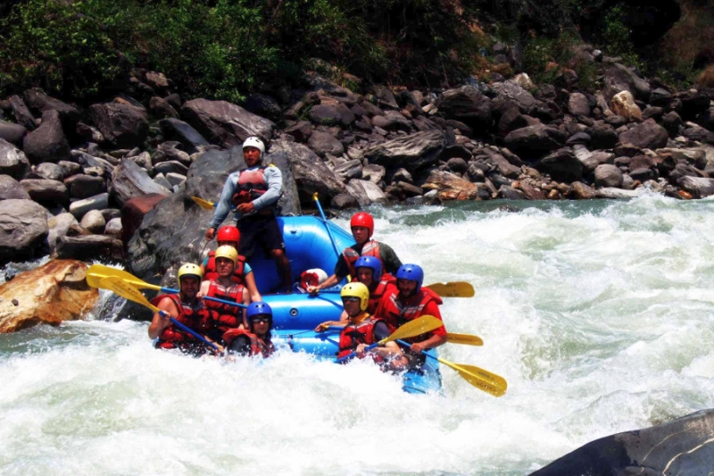 5 extreme Himalaya adventures in Nepal Including white water rafting