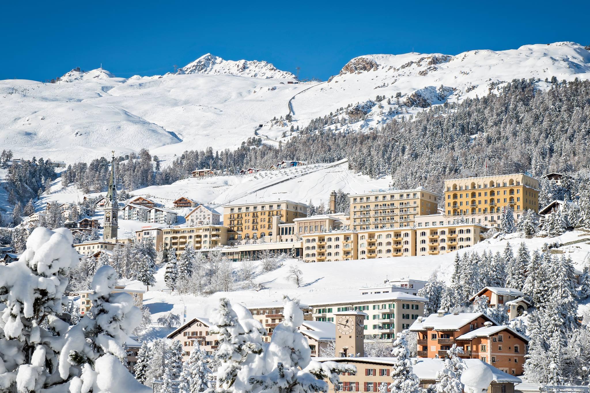 Kulm Hotel St Moritz Swiss adrenaline break - the Best extreme weekend