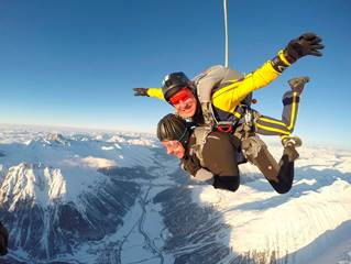 Skydive Engadin Valley on Swiss adrenaline break Best extreme weekend