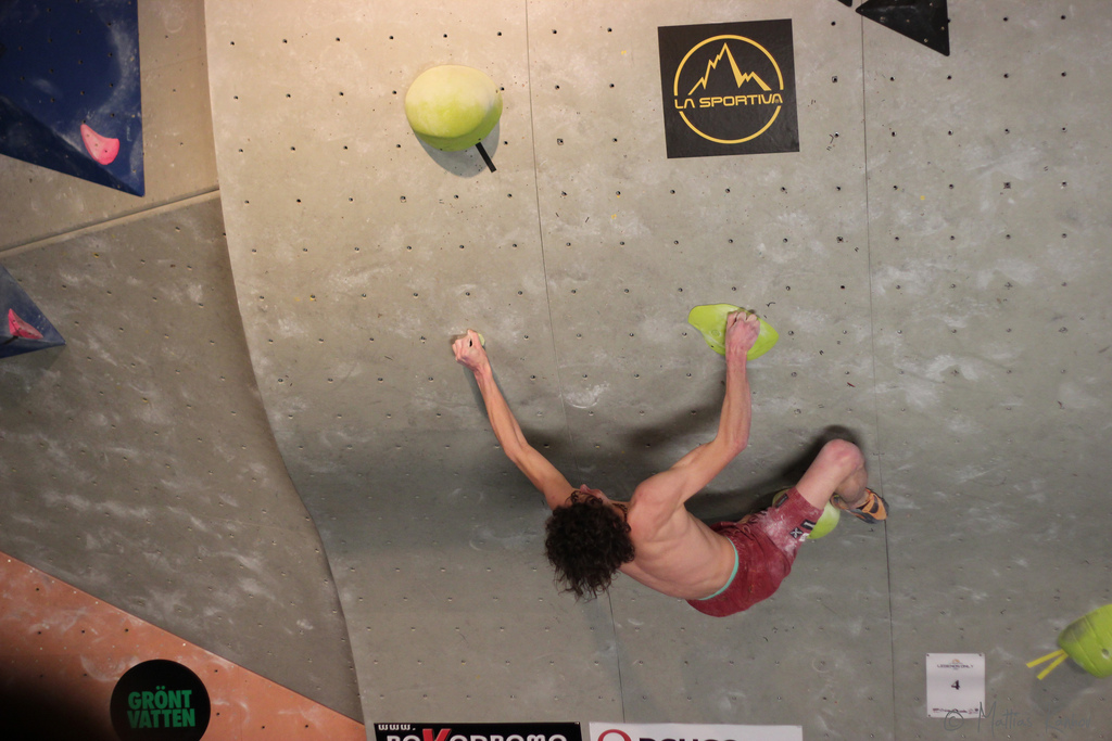 Rock climbing holidays with pros: Coaching by world's best climbers: Adam Ondra Flickr image by Mattias Kanhov