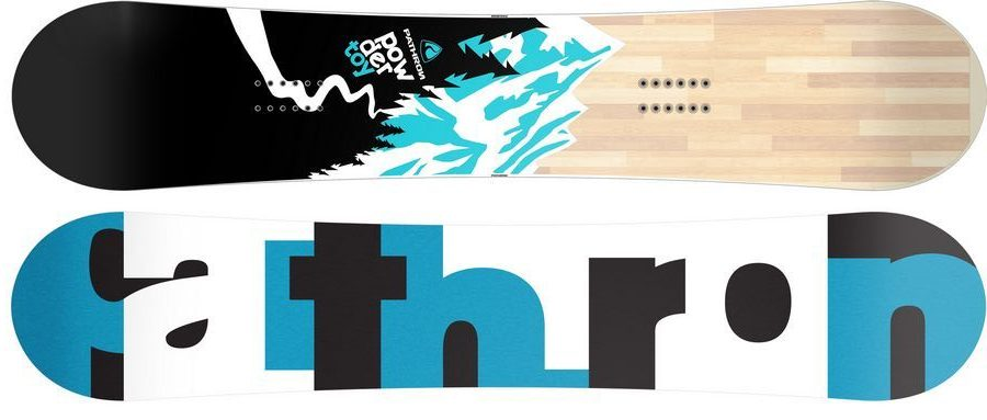 Pathron Powder Toy review: Cheap all mountain snowboard