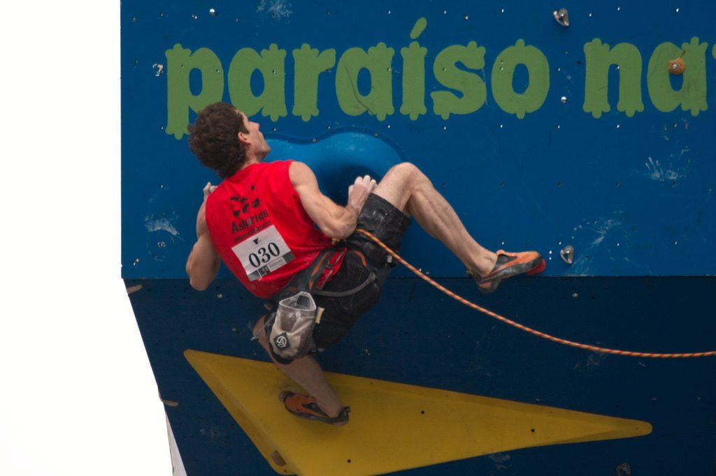 Rock climbing holidays with pros: Coaching by world's best climbers: Patxi Usobiaga Flickr image by Mario Sánchez Prada