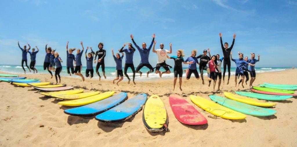 Costa de Luz image courtesy of El Palmar Surf Camps