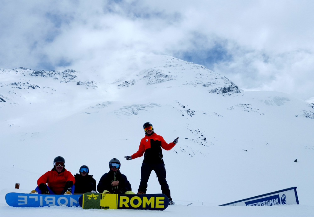 Review of Kaunertal snowboarding holiday at Hotel Kirchenwirt 3