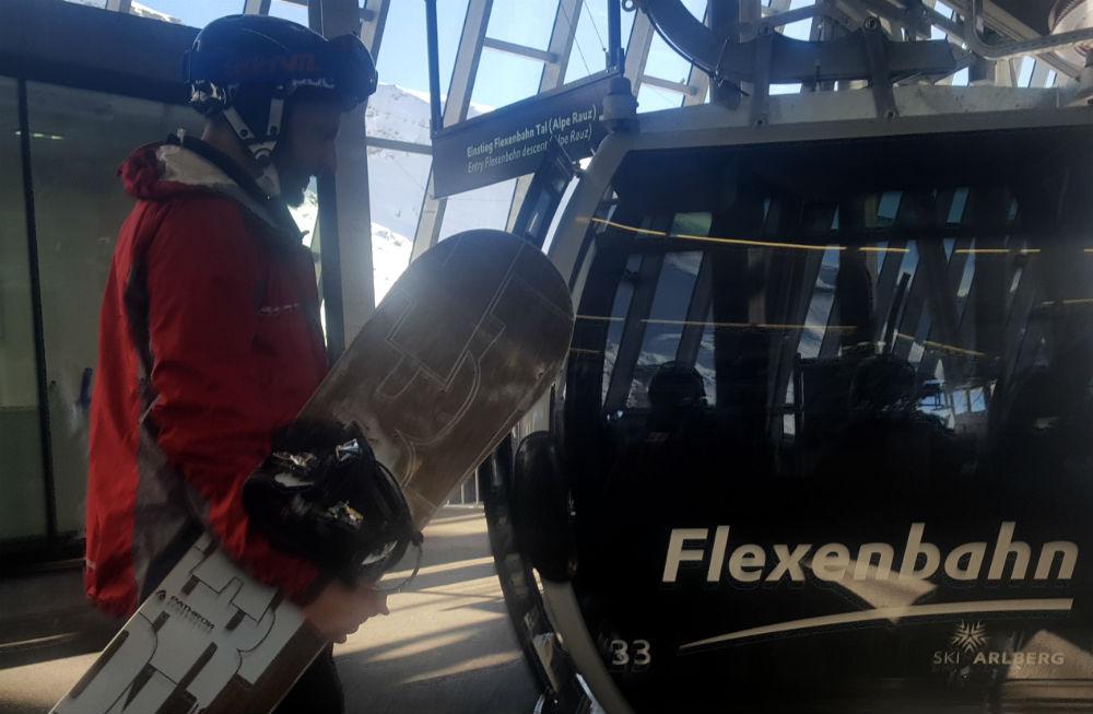 Review of new Flexenbahn gondola in Arlberg Ski Lech to St Anton