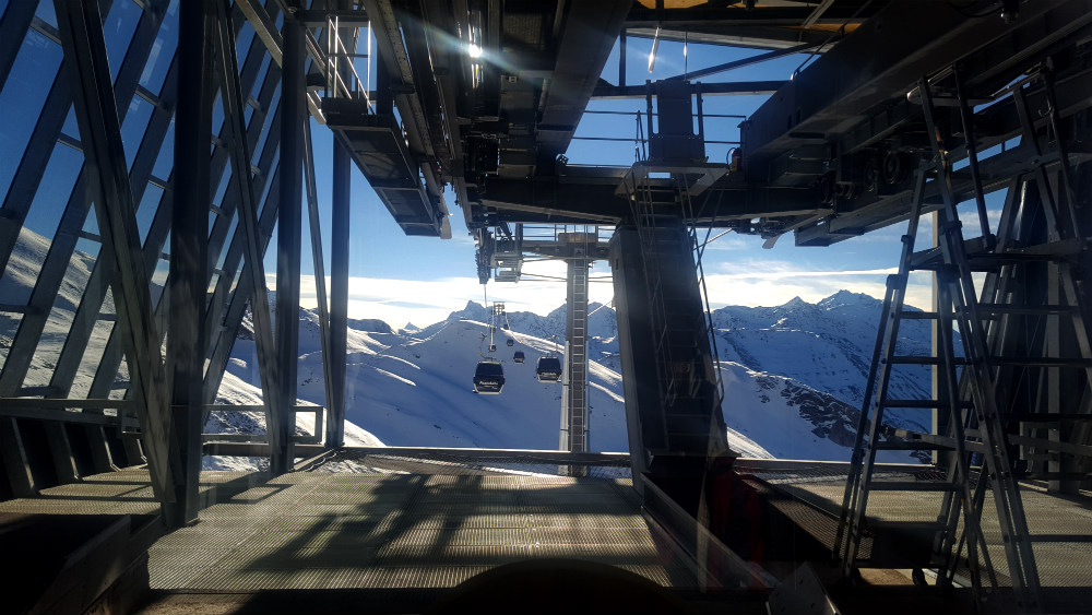 Review of new Flexenbahn gondola in Arlberg Ski Lech to St Anton