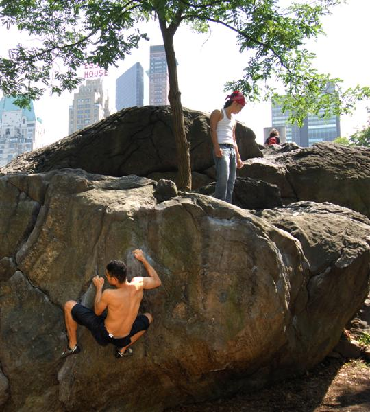 Bouldering Central Park one of the best New York adventure activities Flickr Image by jambo ardalan jalayer