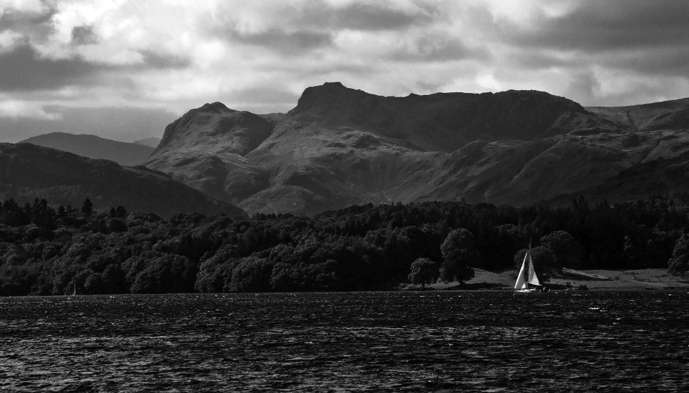 Lake Windermere one of the most beautiful spots to learn to sail in the UK Flickr image by Janet Ramsden