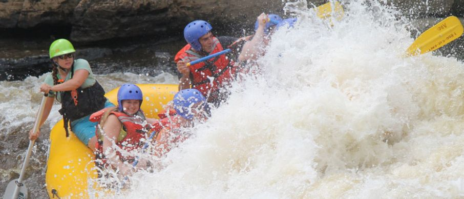 Rafting one of the best New York adventure activities Image courtesy of Aro Adventures