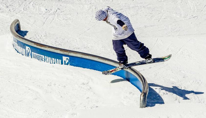 Austrian shred: Kaunertal one of the best austria snowboarding holiday destinations image by Kaunertal