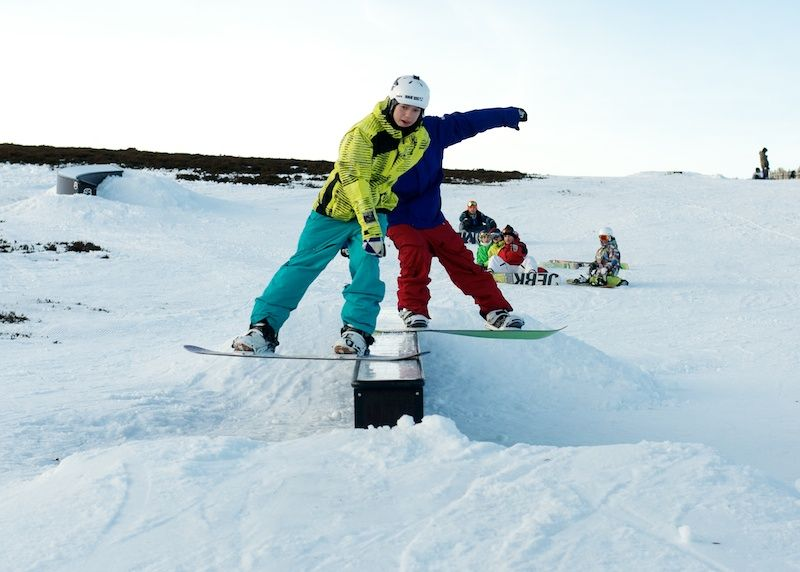 Guide to Glenshee snowboarding in Scotland image courtesy of Glenshee ski resort