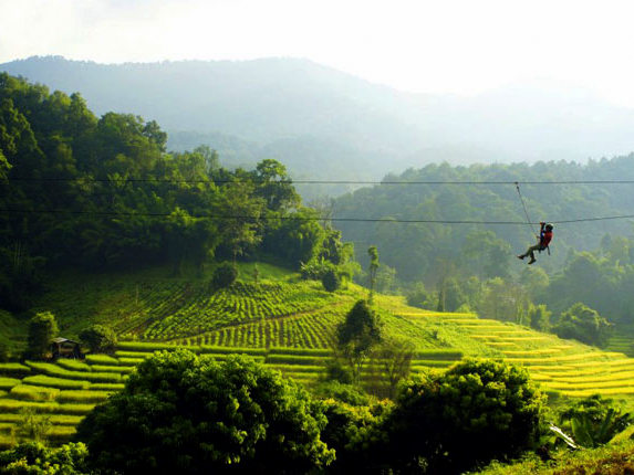 Review of Active Thailand hiking and ziplining in Chiang Mai