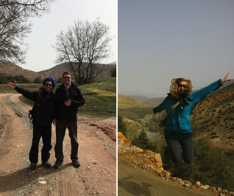 Thanks to Hircham - our Berber guide on this Marrakech 4x4 day trip in the Atlas Mountains and Hiking to Imin Tala