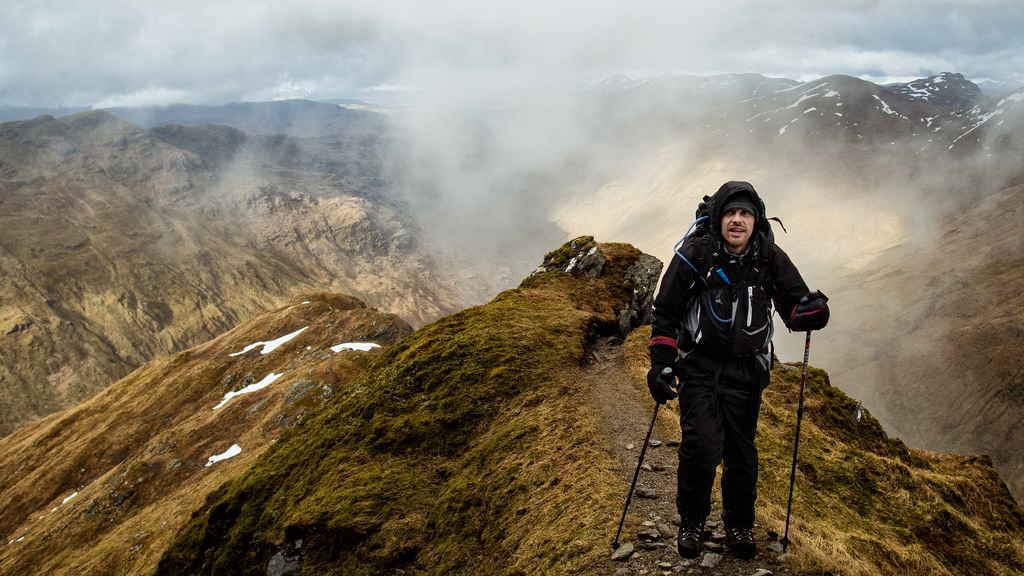 Overland activity holidays: 10 best road trips for adventure lovers Flickr image of hiking in Scotland by absentadrinker
