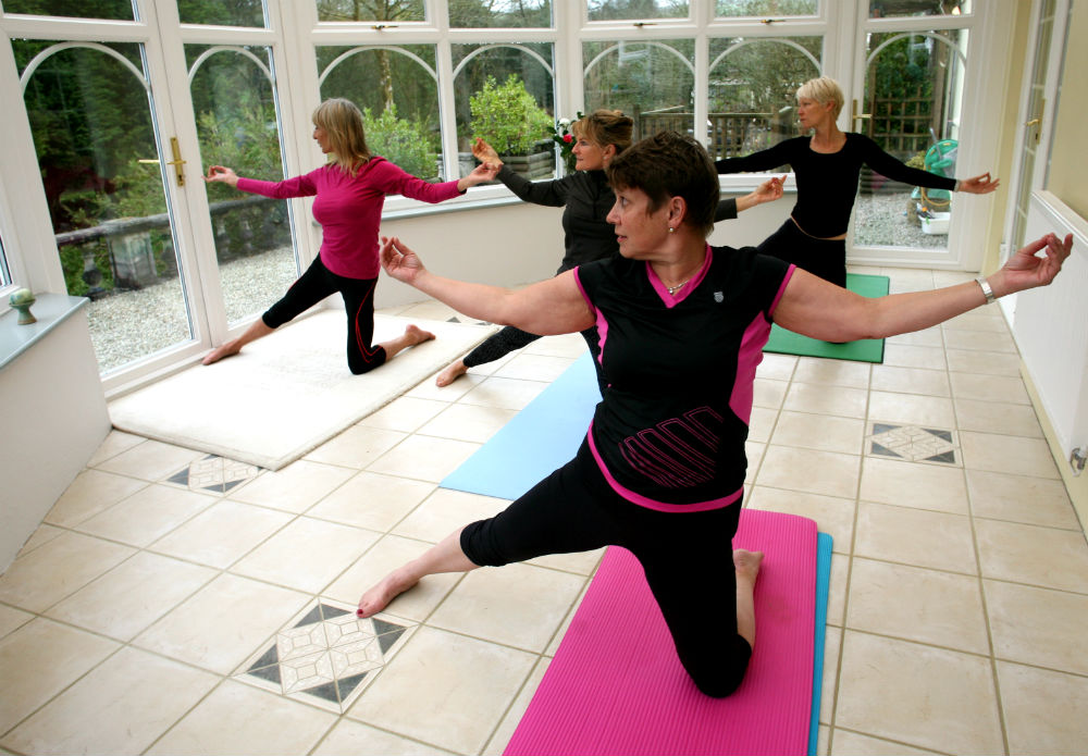 Bodmin Moor Yoga break wellness weekends in Cornwall