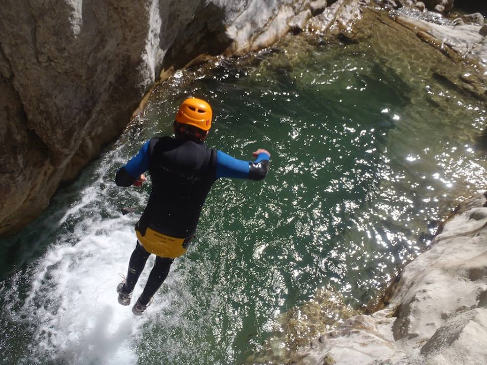 Canyoning: Introducing Undiscovered Mountains: Off the beaten track mountain activity holidays image courtesy of Undiscovered Mountains image courtesy of Undiscovered Mountains