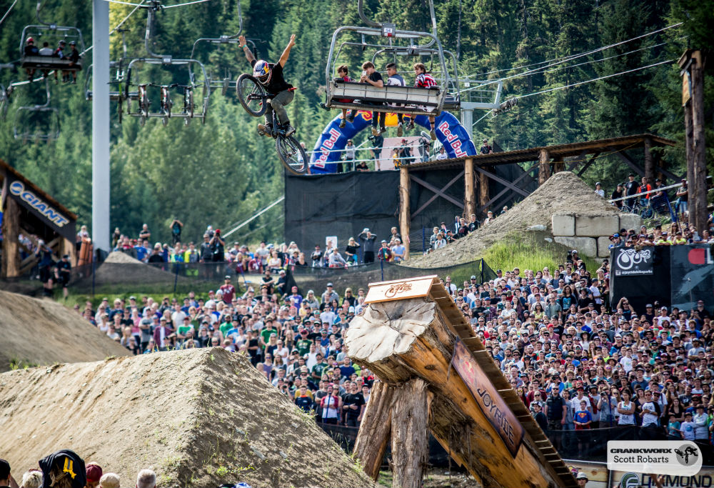 Crankworx Mountain Bike Festival copyright Crankworx Scott Robarts