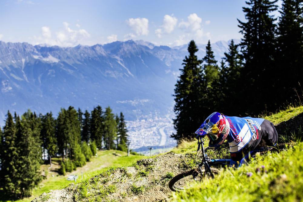 Guide to Innsbruck mountain biking holidays Best MTB city break Crankworx (c) Tommy_Bause