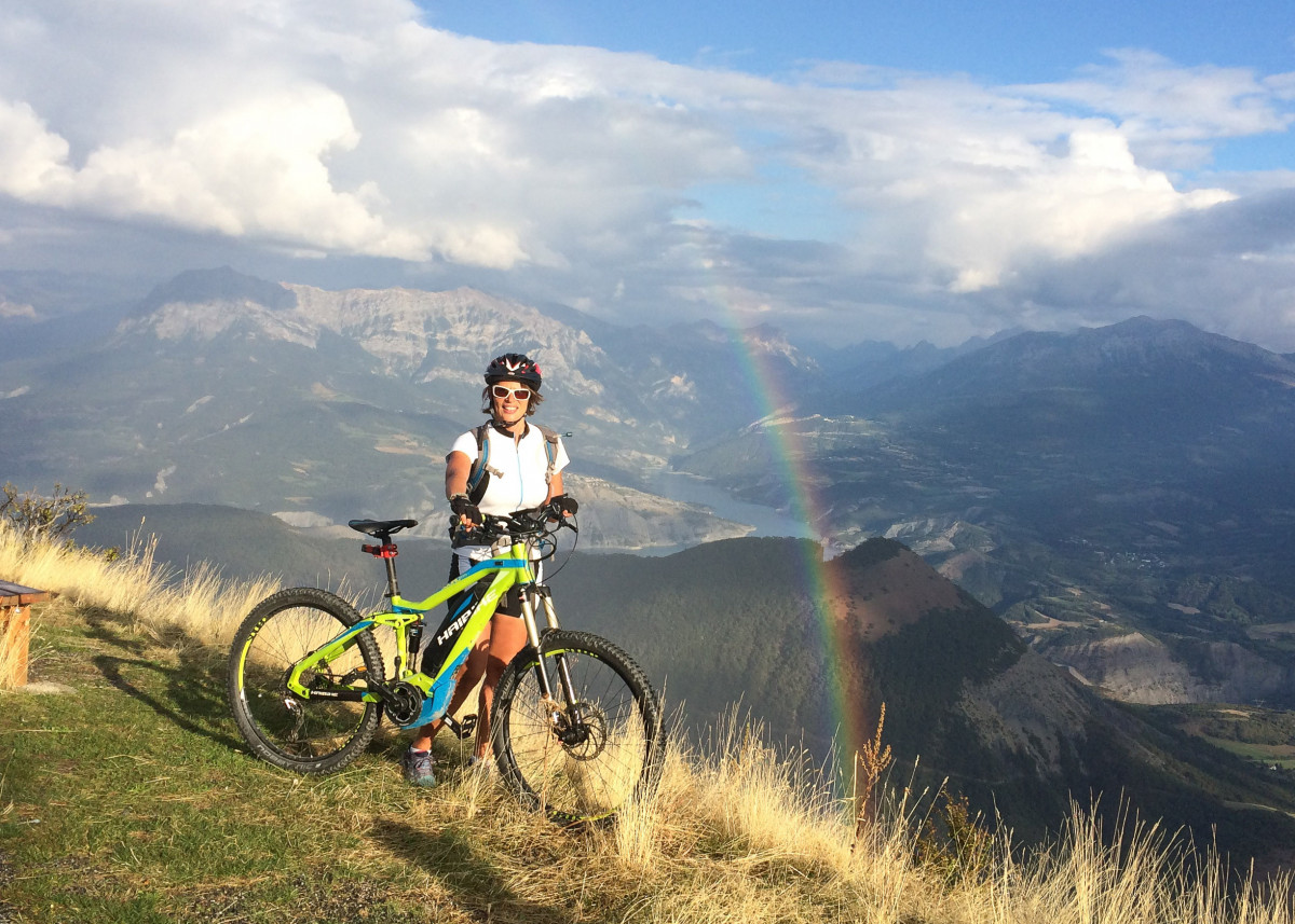 eBiking one of 15 best summer mountain activities in the Southern French Alps image courtesy of Undiscovered Mountains