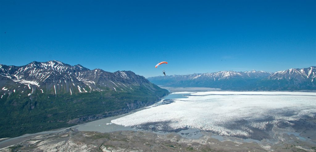 Best US dropzones where to skydive in the USA Image courtesy of Skydive Alaska Centre by Curt Vogelsang