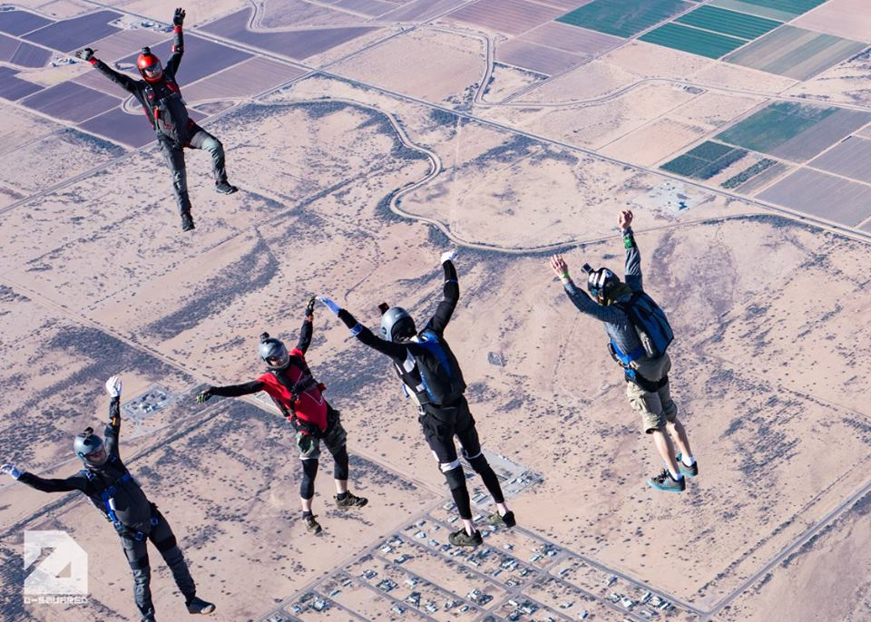 Best US dropzones where to skydive in the USA Image courtesy of Skydive Arizona by Dave Wybenga