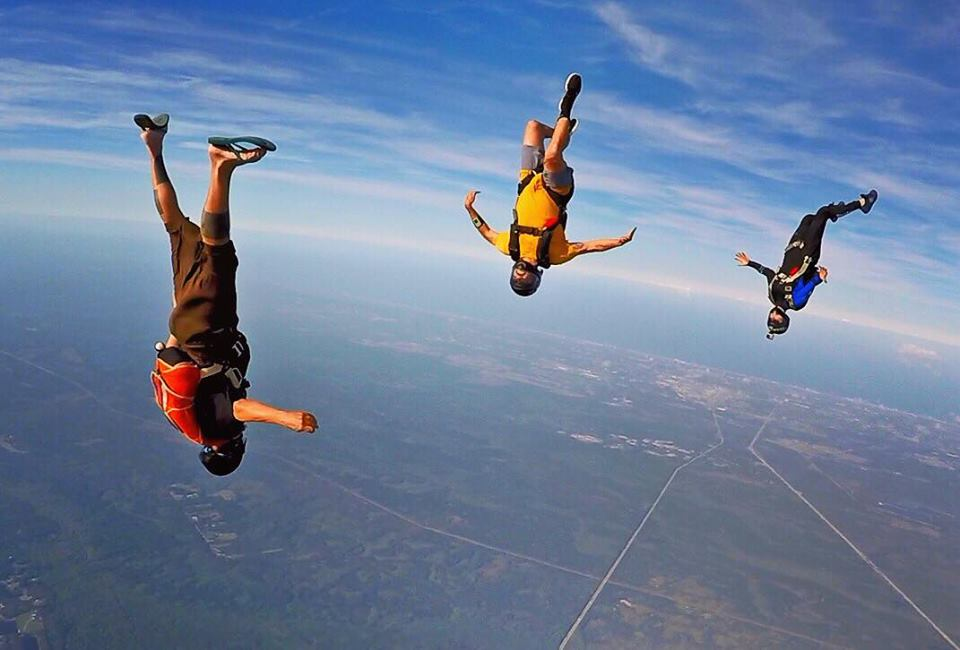 Best US dropzones where to skydive in the USA Image courtesy of Skydive DeLand by Ryan Jenkins