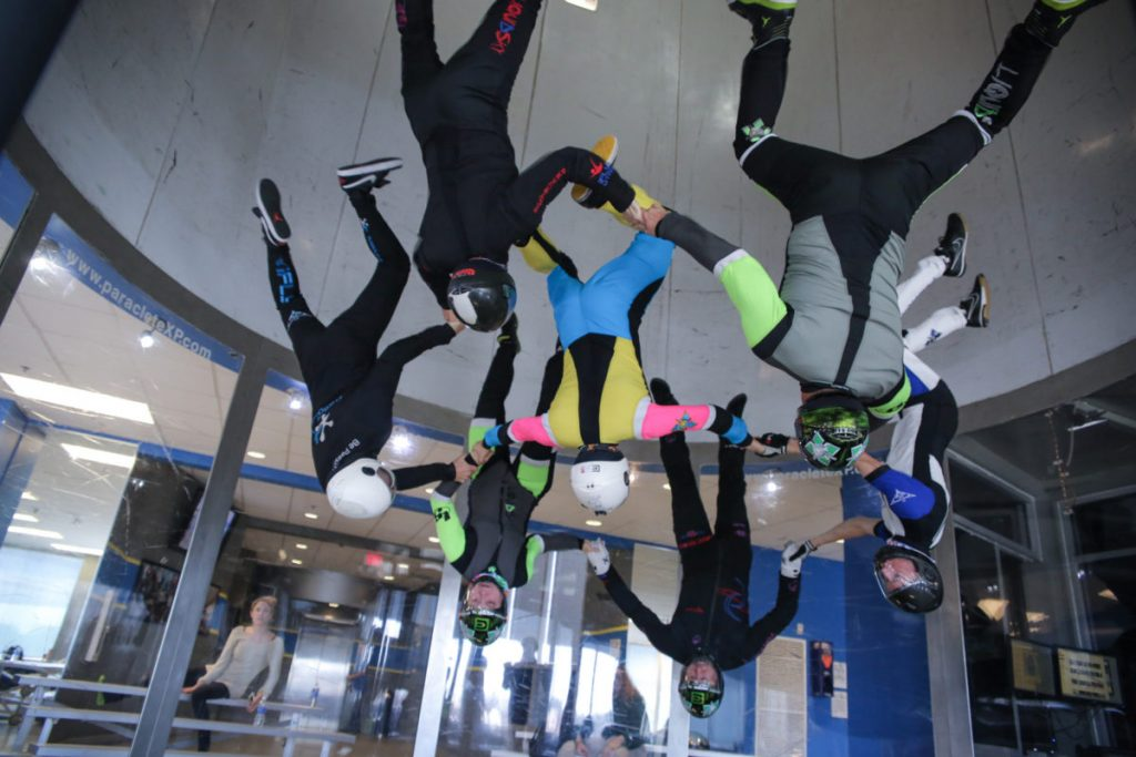 Best US dropzones where to skydive in the USA Image courtesy of Skydive Paraclete XP